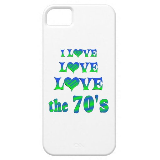 Love Love the 70s iPhone 5 Cover