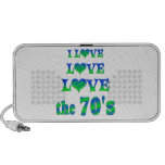 Love Love the 70s Laptop Speakers