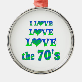Love Love the 70s Christmas Ornaments