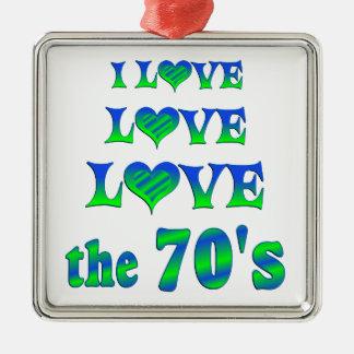 Love Love the 70s Christmas Tree Ornaments