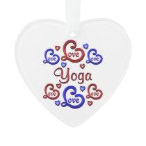 LOVE LOVE YOGA ORNAMENT