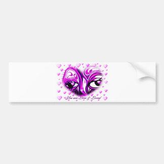 Love & Loved_ Bumper Sticker