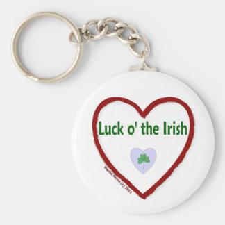 Love Luck o' the Irish Keychain