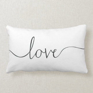 Love Lumbar Pillow