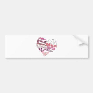 Love Ma Bumper Sticker