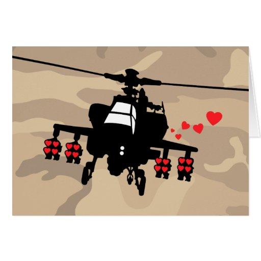 Love Machine Attack Chopper Greeting Card