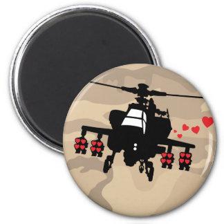 Love Machine Attack Chopper Magnet