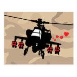 Love Machine Attack Chopper Post Card