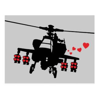 Love Machine Attack Chopper Postcard
