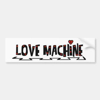 Love Machine Car Bumper Sticker