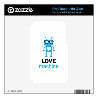 Love Machine Skins For iPod Touch 4G