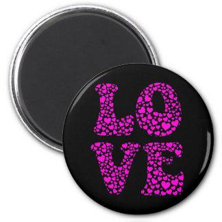 LOVE FRIDGE MAGNETS