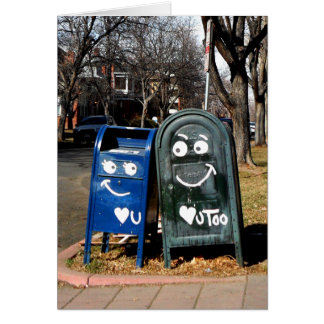 love mailboxes : i heart you card