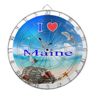 Love Maine.PNG Dartboard
