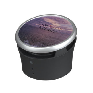 Love Makes a Family Adoption - Foster Care Bluetooth Speaker