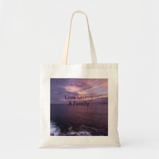 Love Makes a Family Adoption - Foster Care Tote Bag