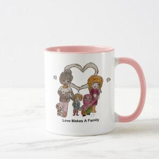 Love Makes a Family by Ainsley--11 oz Mug
