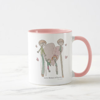 Love Makes a Family by Annika--11 oz Mug