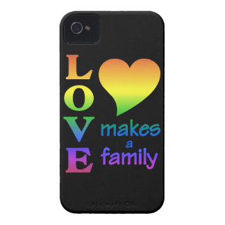 Love Makes a Family iPhone 4 Case-Mate iPhone 4 Case-Mate Case