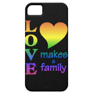 Love Makes a Family iPhone Case-Mate iPhone 5 Covers