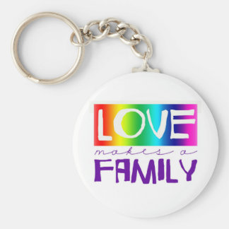 LOVE MAKES A FAMILY KEYCHAIN