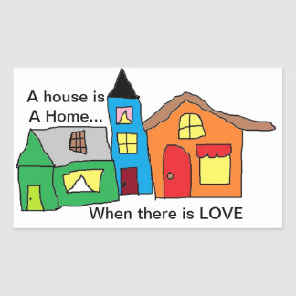 Love makes a Home STICKERS
