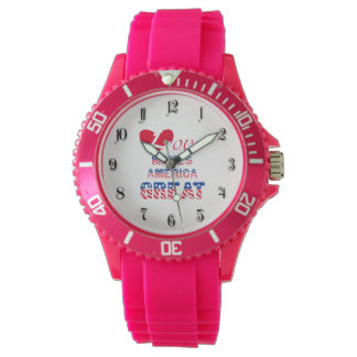 Love makes America great Wrist Watch