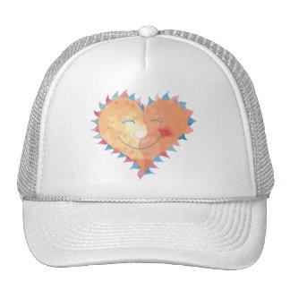 Love Makes Me Smile Trucker Hat