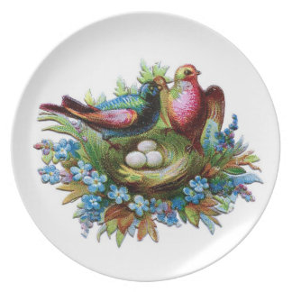 Love Makes Our Nest A Home Plates