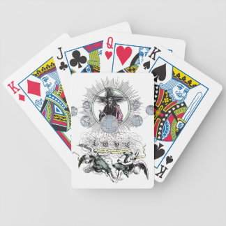 Love Makes The World Go Around by TEO Bicycle Playing Cards