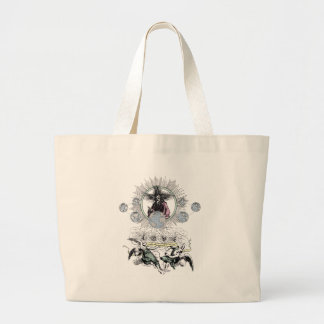 Love Makes The World Go Around by TEO Large Tote Bag