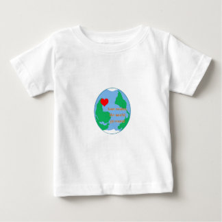 love makes the world go round baby T-Shirt