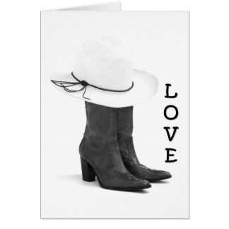 LOVE MAKES THE WORLD GO ROUND-ESP OURS GREETING CARD