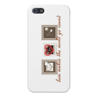 Love Makes the world go Round iPhone 5 Cover