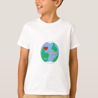 love makes the world go round T-Shirt