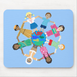 Love makes this world one family mouse pad