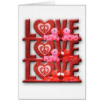 Love Makes World Go 'Round Greeting Cards