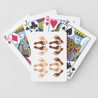 Love Making Feet Bicycle Playing Cards
