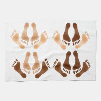 Love Making Feet Hand Towel
