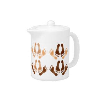 Love Making Feet Teapot