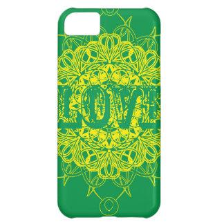 Love Mandala Design iPhone 5C Cover