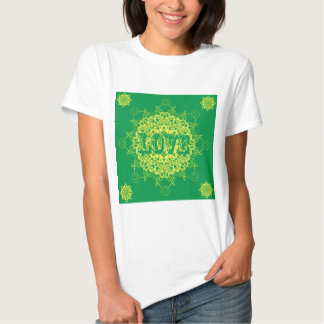 Love Mandala Design Tees