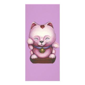 Love Maneki-neko Customized Rack Card