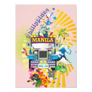 Love Manila, Philippines Invites