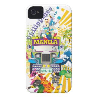 Love Manila, Philippines iPhone 4 Case