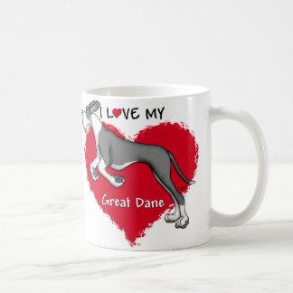 Love Mantle Great Dane UC Mugs
