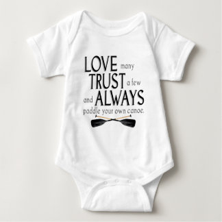 Love Many, Trust a Few Baby Bodysuit