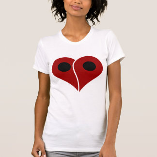 LOVE Map Marker Pin T-Shirt
