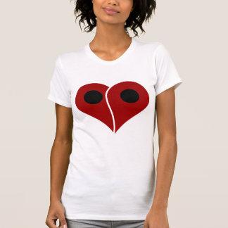 LOVE Map Marker Pin Tshirt