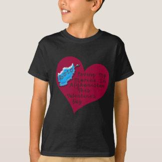 LOVE MARINE AFGHAN VAL DAY T-Shirt